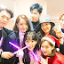 TaeYeon shared photos with fellow SNSD members, and other SM artists who came to watch her concert