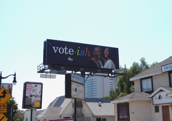 Black-ish Emmy season 3 Vote-ish billboard