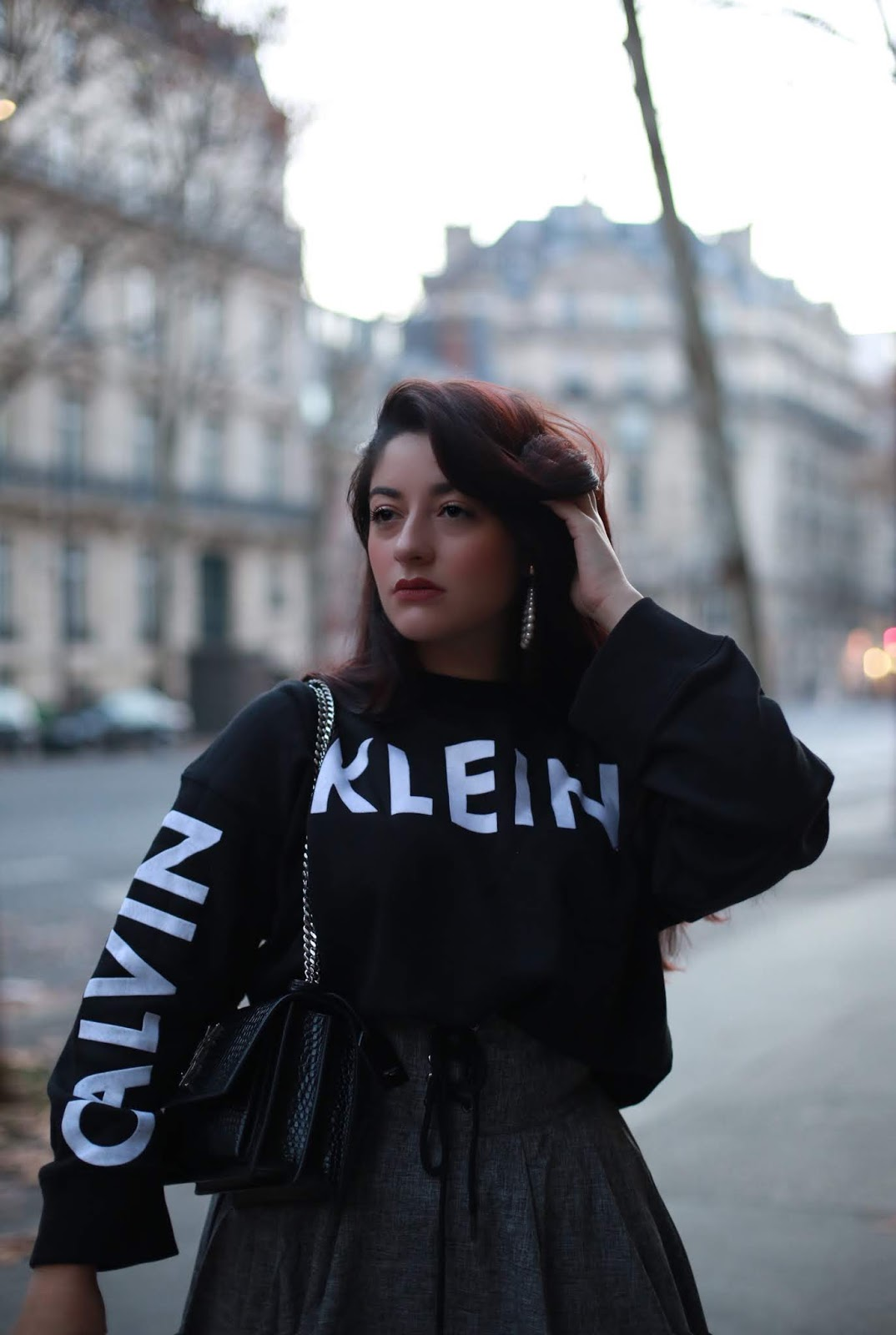 sweat sportswear Calvin Klein