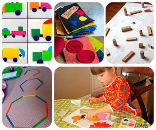 5 Juegos educativos donde aprender las formas