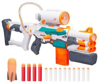 Súng Nerf bắn được 3 loại đạn Modulus Tri-strike