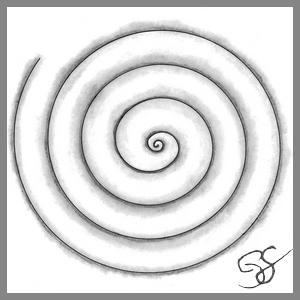 Zendoodle, motif spirale