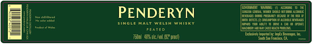 Penderyn Single Malt Welsh Whiskey - Peated