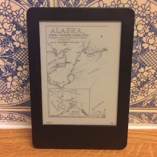To the Bright Edge of the World by Eowyn Ivey - Alaska Map