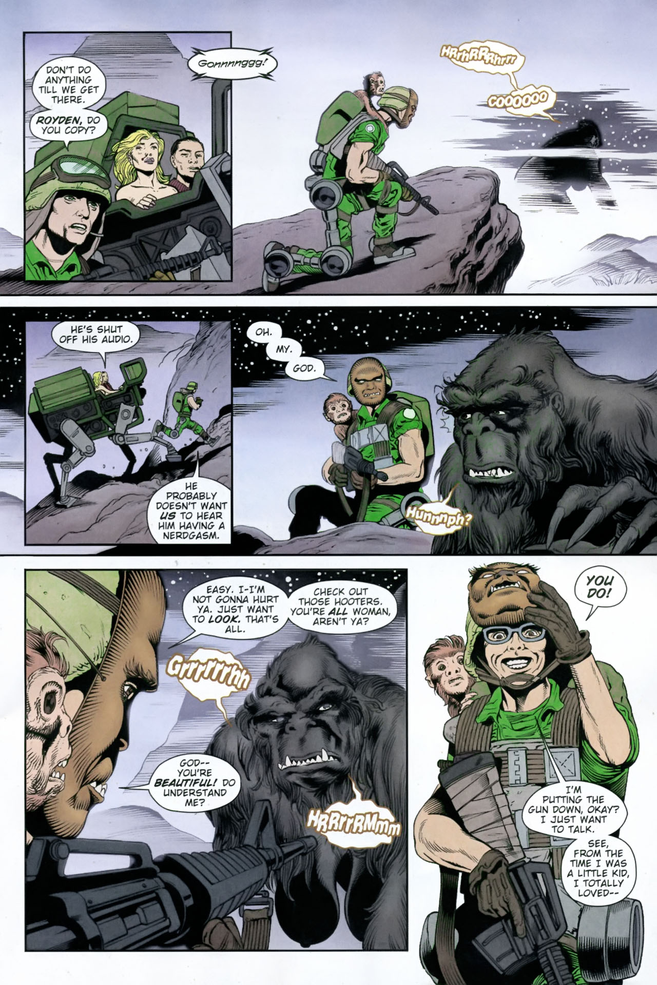 Read online Army @ Love comic -  Issue #12 - 7