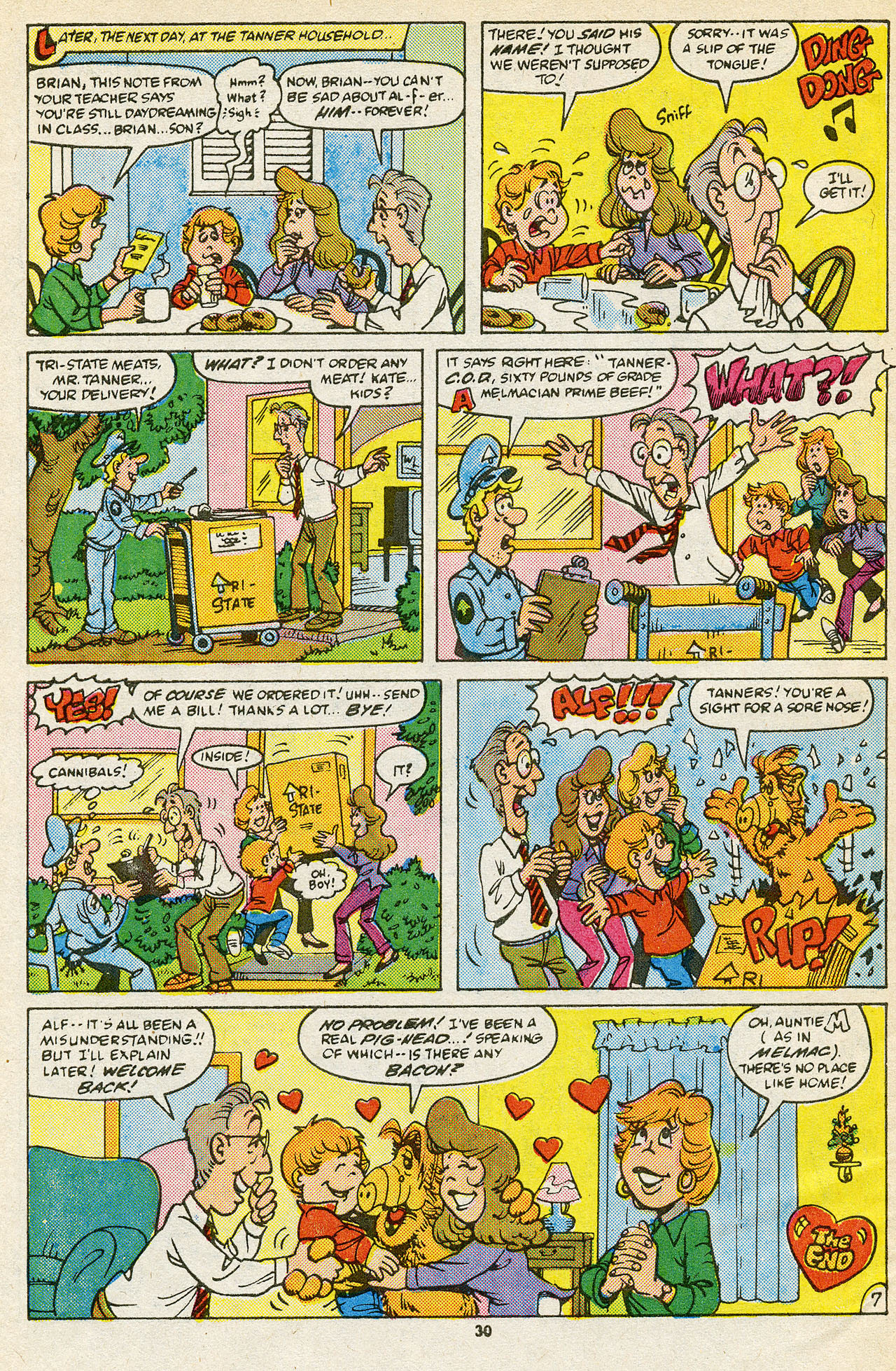 Read online ALF comic -  Issue #15 - 32