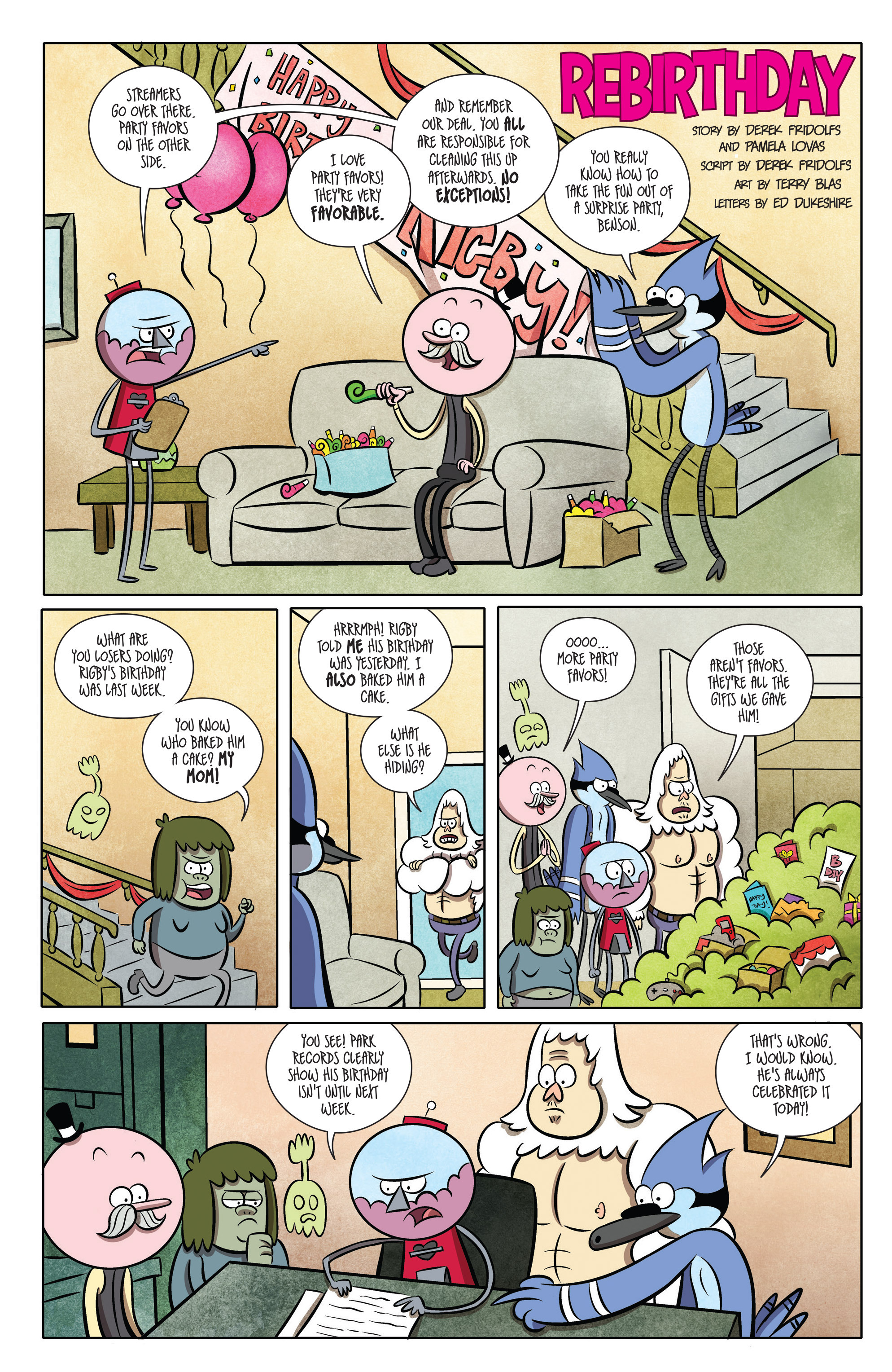 Read online Regular Show comic -  Issue # _2017 Special 1 - 3