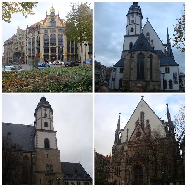 Thomaskirche, Leipzig. Alemanha