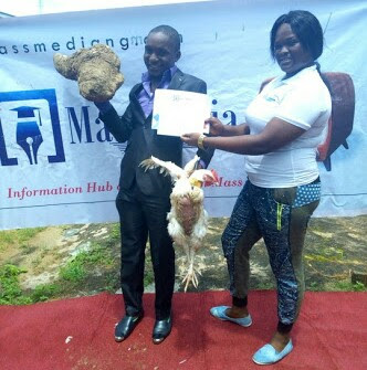 Best Graduating Student Rewarded With Yam Tuber, Live Chicken