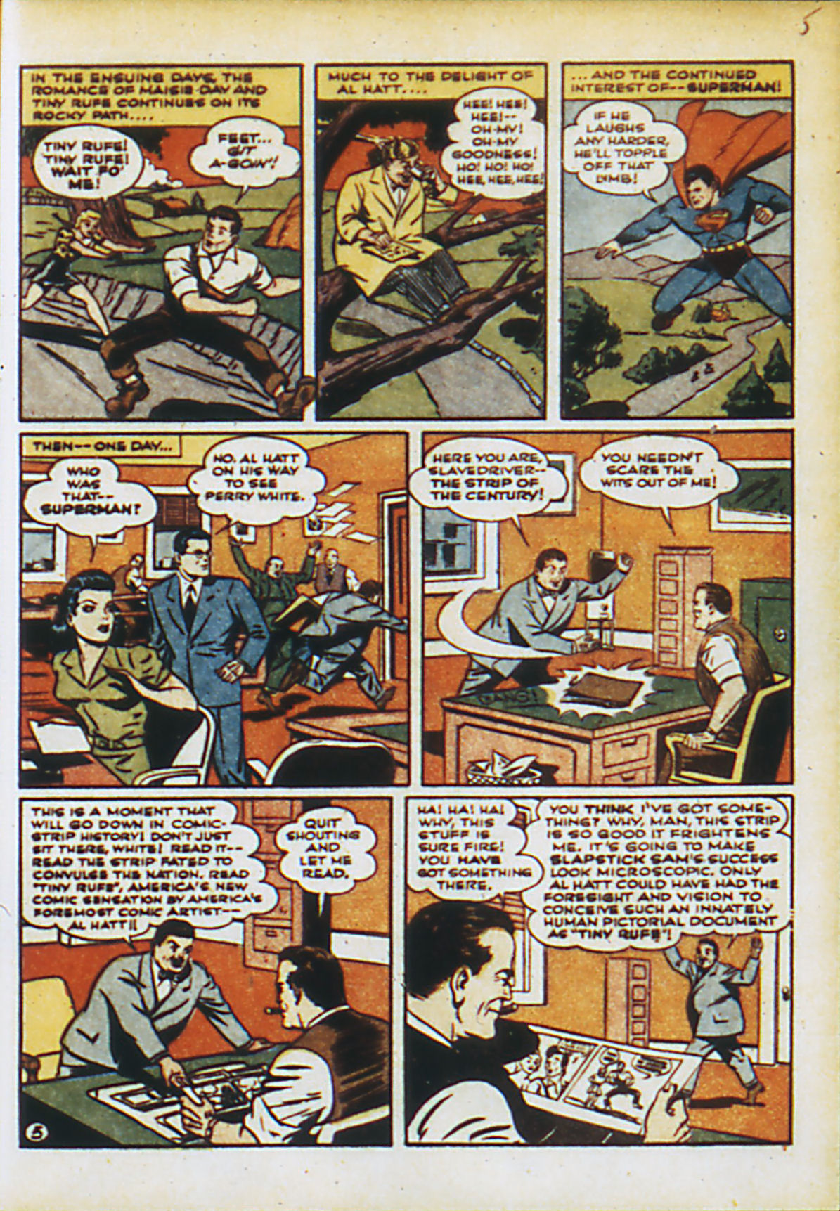 Read online Action Comics (1938) comic -  Issue #55 - 8