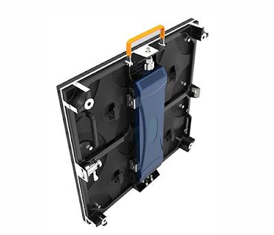 Thiết kế thi công màn hình led p4 cabinet giá rẻ tại Điện Biên