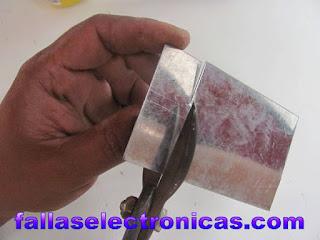 herramienta casera para soldar tubos de cobre