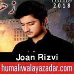 http://www.humaliwalayazadar.com/2018/02/joan-rizvi-noha-special-kalam-2018.html