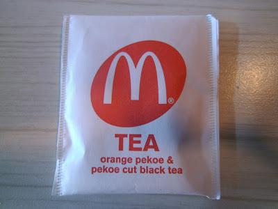 McDonald's Orange Pekoe & Pekoe Cut Black Tea