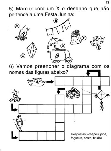 150 Atividades De Festa Junina Para Imprimir Espaco Educar
