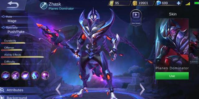 Update Game Mobile Legends 1.2.34: New Hero Zhask