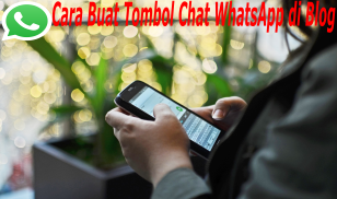 cara buat tombol whatsapp yang melayang di blog