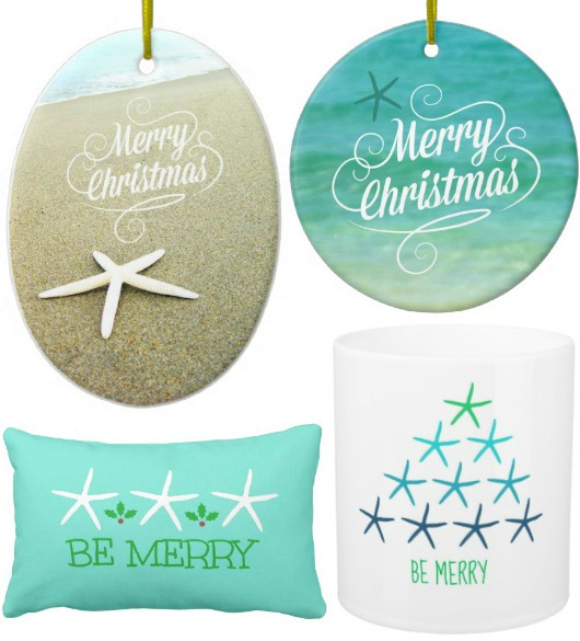 Beach Photo Ornaments and Decorations