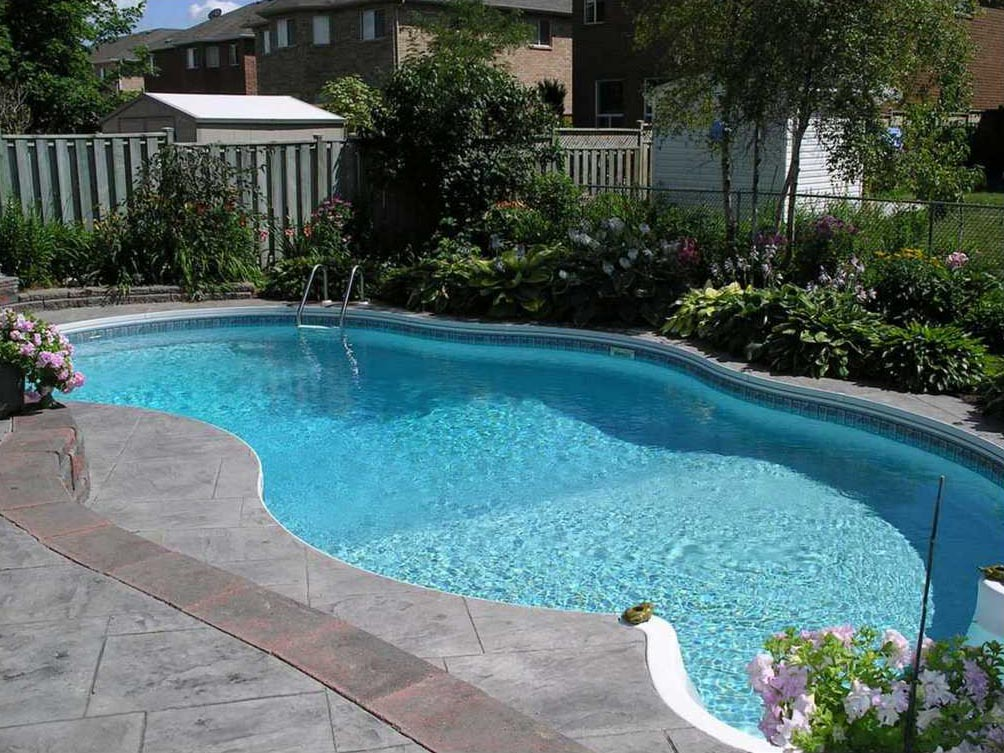 80 contoh kolam renang minimalis belakang rumah terindah