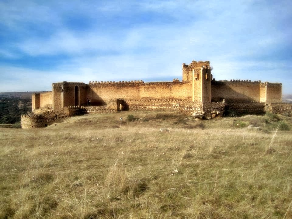 CASTILLO DE SAN MARTÍN DE MONTALBÁN e iglesia visigoda de Melque..los templarios en los montes de Toledo.