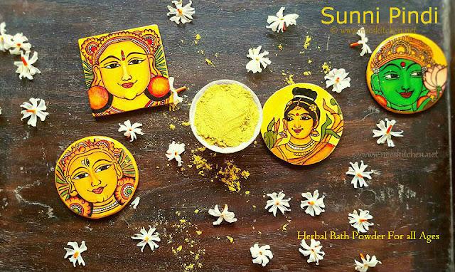 Sunni Pindi / Nalagu Pindi | Herbal Bath Powder for Babies