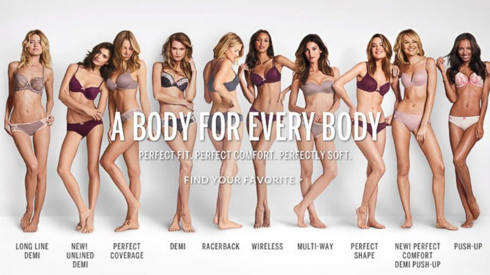 "996c6f7141ff7 But it also came with controversy--the ""Perfect Body"" campaign. The other  downside was that the bras had less material at the front of the bra"