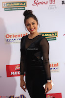 Vennela in Transparent Black Skin Tight Backless Stunning Dress at Mirchi Music Awards South 2017 ~  Exclusive Celebrities Galleries 017.JPG