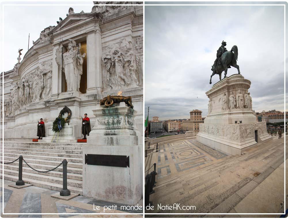 Monument Victor-Emmanuel II Rome Italie