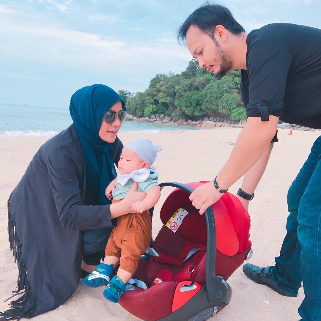 Disangka Anak Yana Samsuddin Macam Shin Chan (10 Gambar)