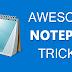 Top 15 Cool Notepad Tricks, Hacks & Commands
