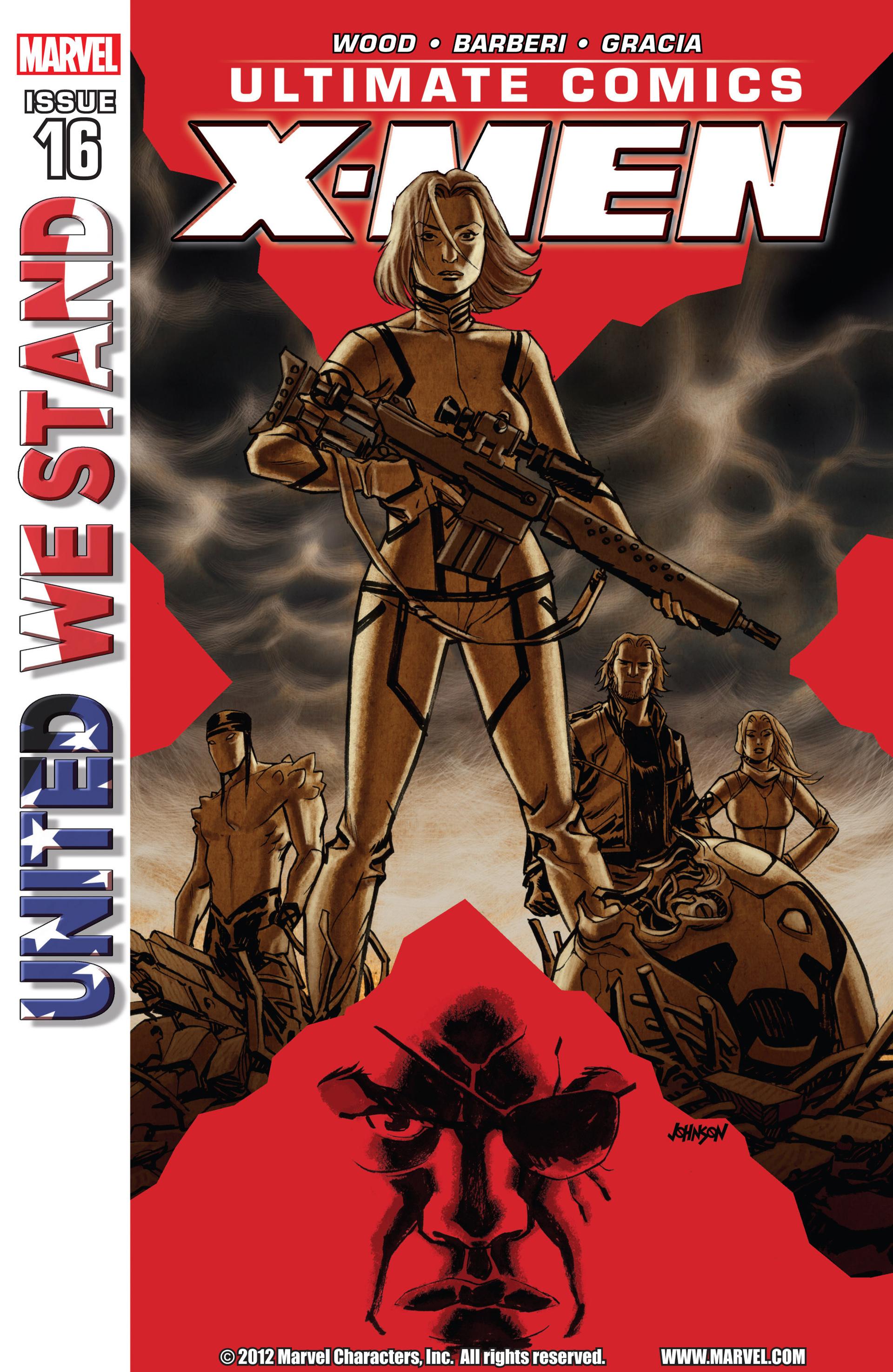 Read online Ultimate Comics X-Men comic -  Issue #16 - 1