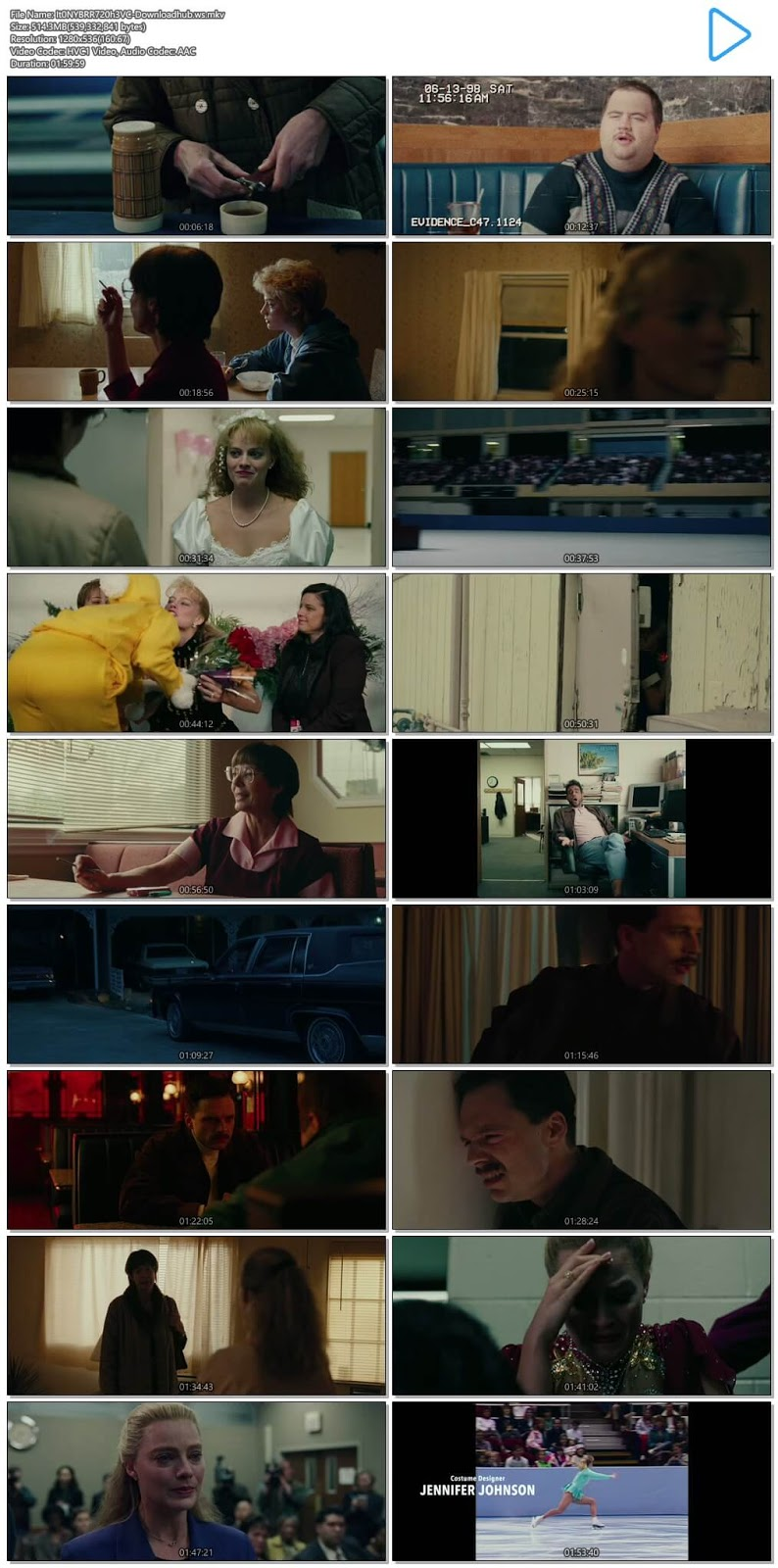 I, Tonya 2017 English 720p HEVC BRRip ESubs