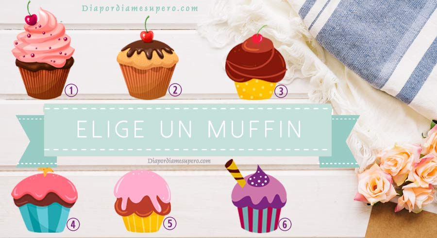 Test: Elige un muffin y descubre cuál es tu nivel de dulzura