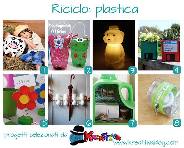 raccolta riciclo creativo