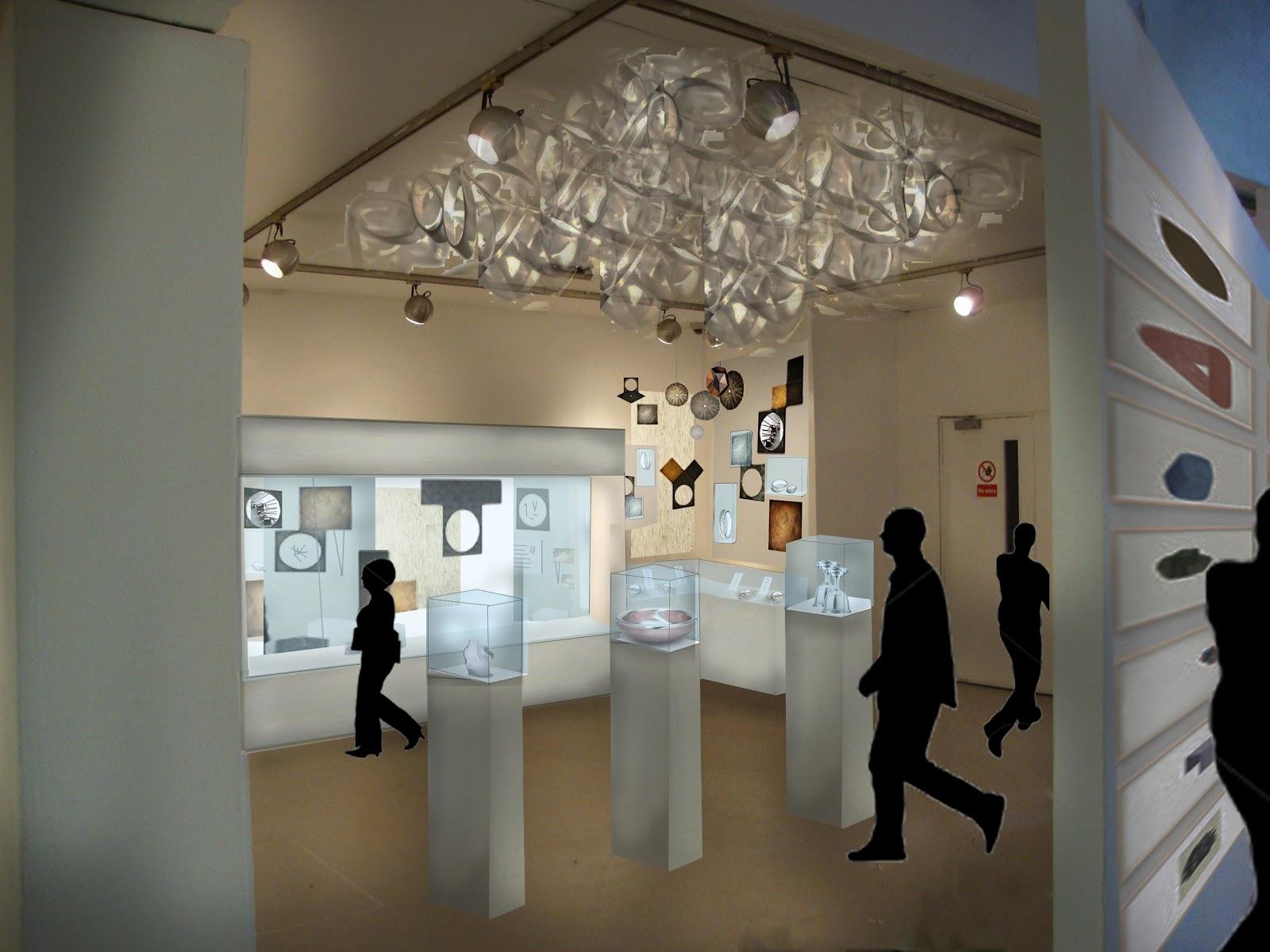 Interior Design: 2yr Newbury Tower, Jewellery Exhibition