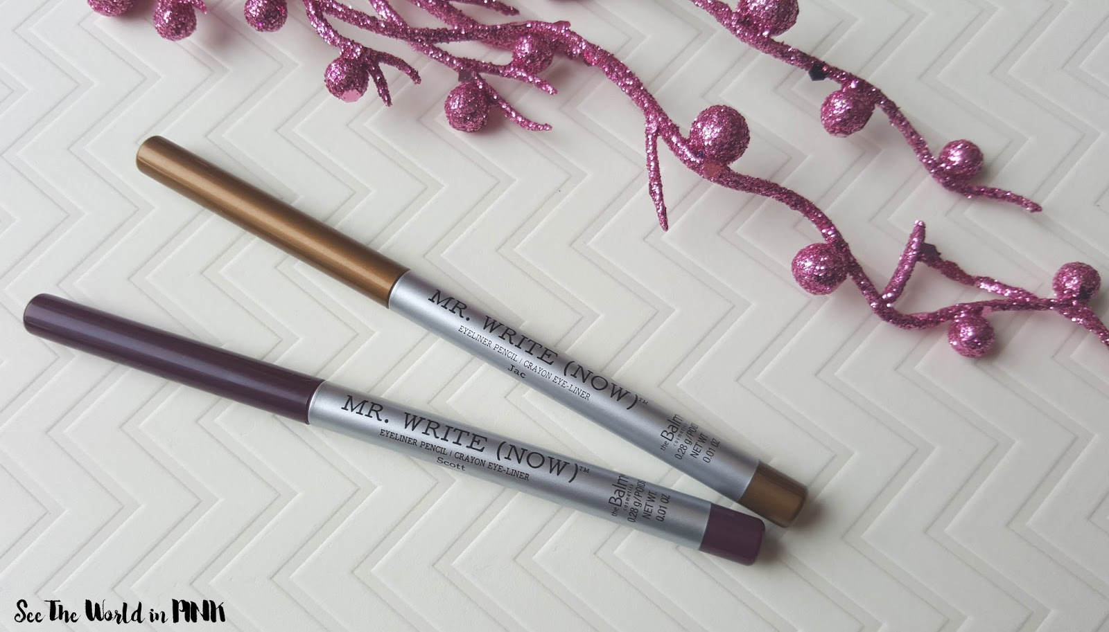 Makeup Review - theBalm Cosmetics Mr. Write (Now) Eyeliners