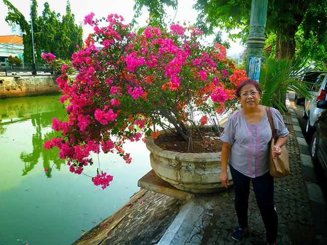 Santy y las flores de Yakarta