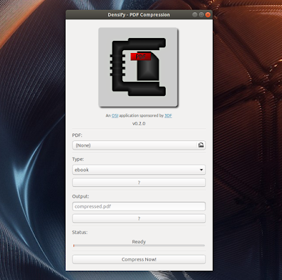 Densify PDF Compression tool