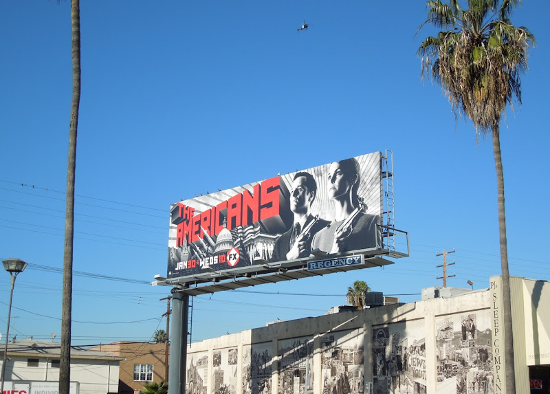 Americans season 1 FX billboard
