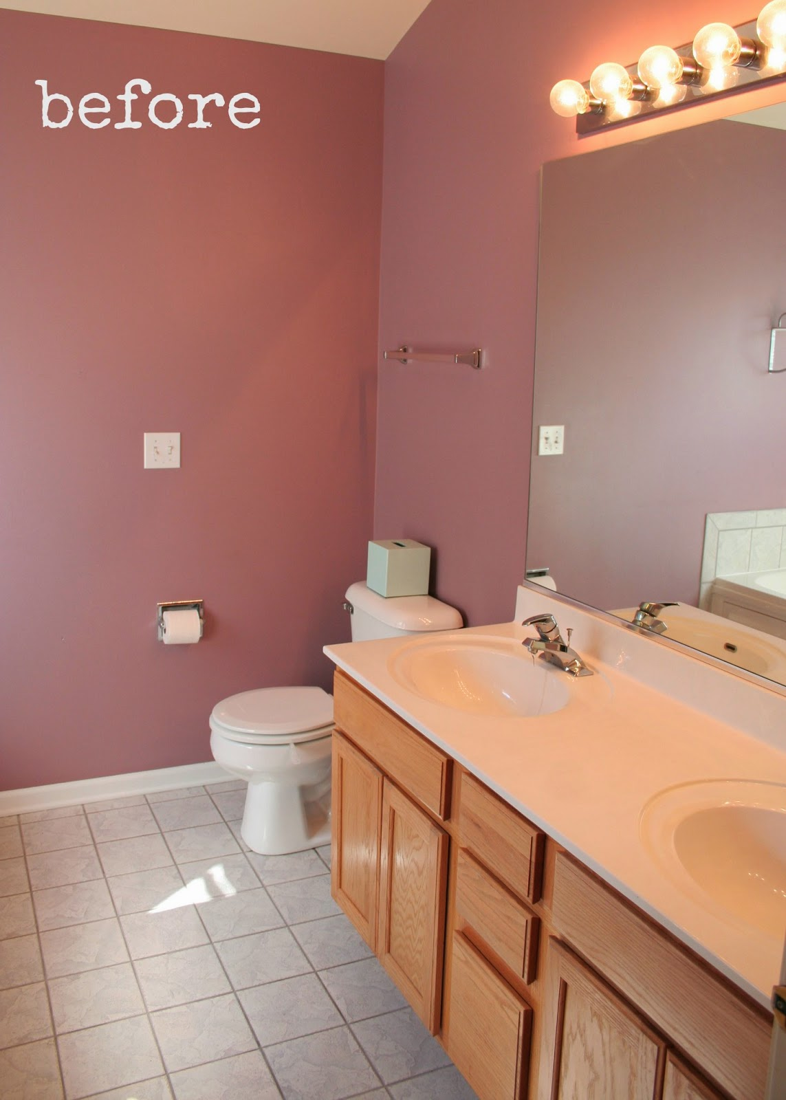 Pretty Distressed: Revisiting My DIY Bathroom Update