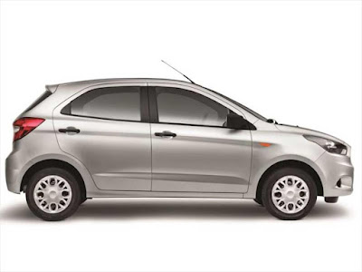 New Ford Figo 2016 side look image