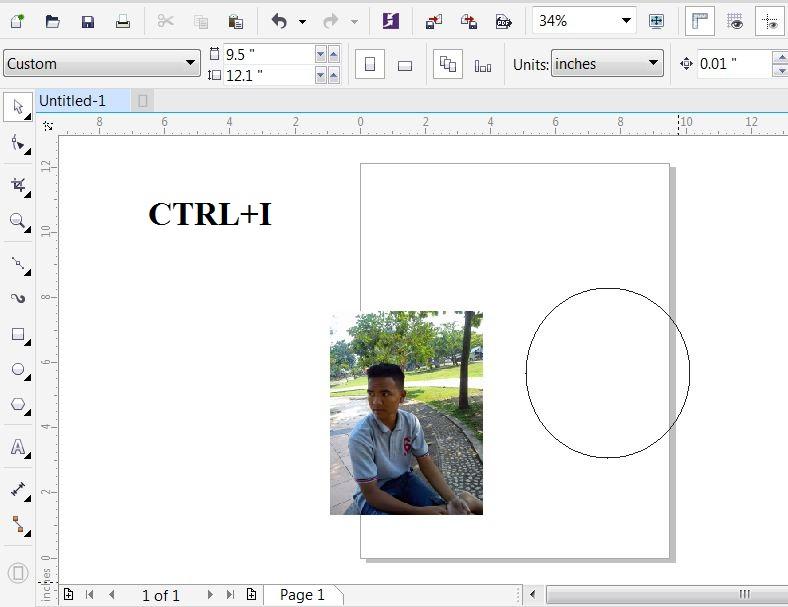 Cara Menambah Gambar Di Coreldraw X7 - AR Production