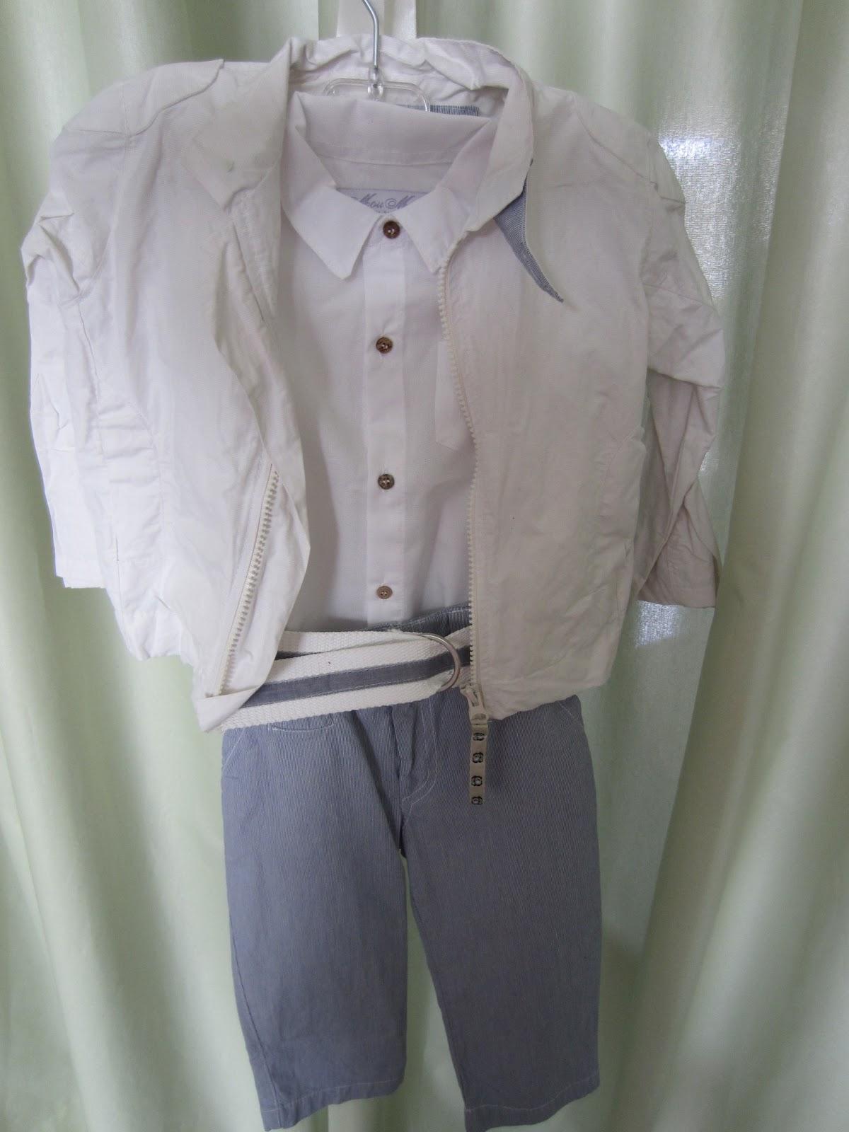 4993907ad64 Παντελόνι, πουκάμισο, ζώνη, σακάκι και καπέλο. Νο 1. Τιμή: 60 ευρώ.