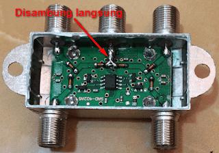 Cara Membuat Power Divider dari Switch