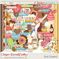 Kit : Ice Cream by GingerBread Ladies