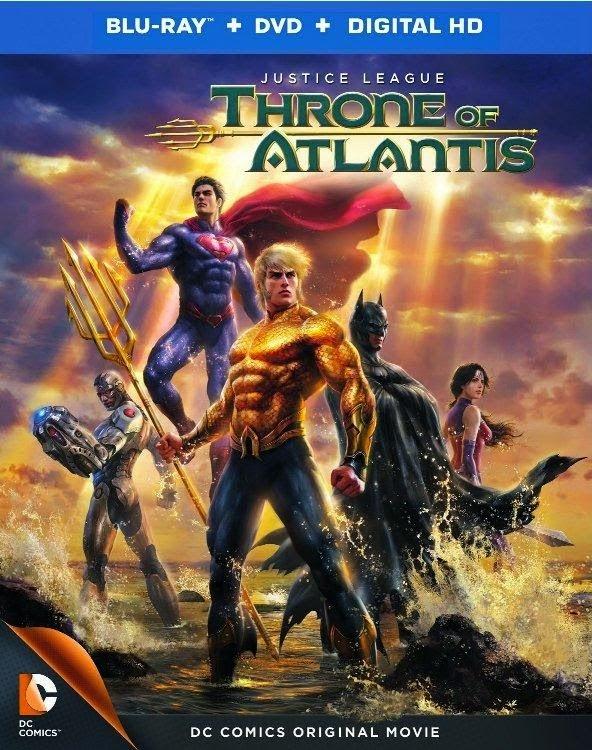 Liga da Justiça: Trono de Atlântida – Dublado (2015)