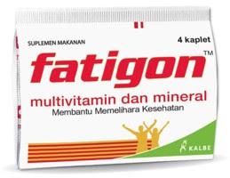 Harga Fatigon Suplemen Penjaga Stamina Terbaru 2017
