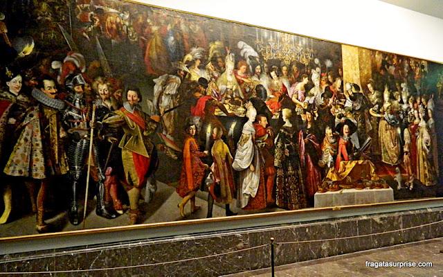 O Banquete de Herodes e a Decapitação de S. João Batista, de  Bartholomäus Strobel