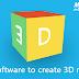 Free software to create a 3D model - बनाएँ 3D मॉडल इस मुफ्त सॉफ्टवेयर से