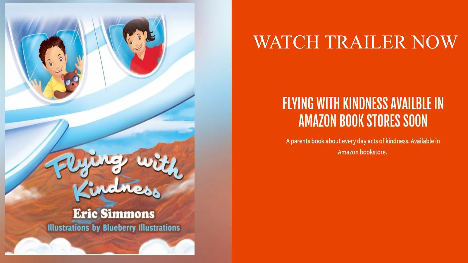 Flying With Kindness by Eric Simmons